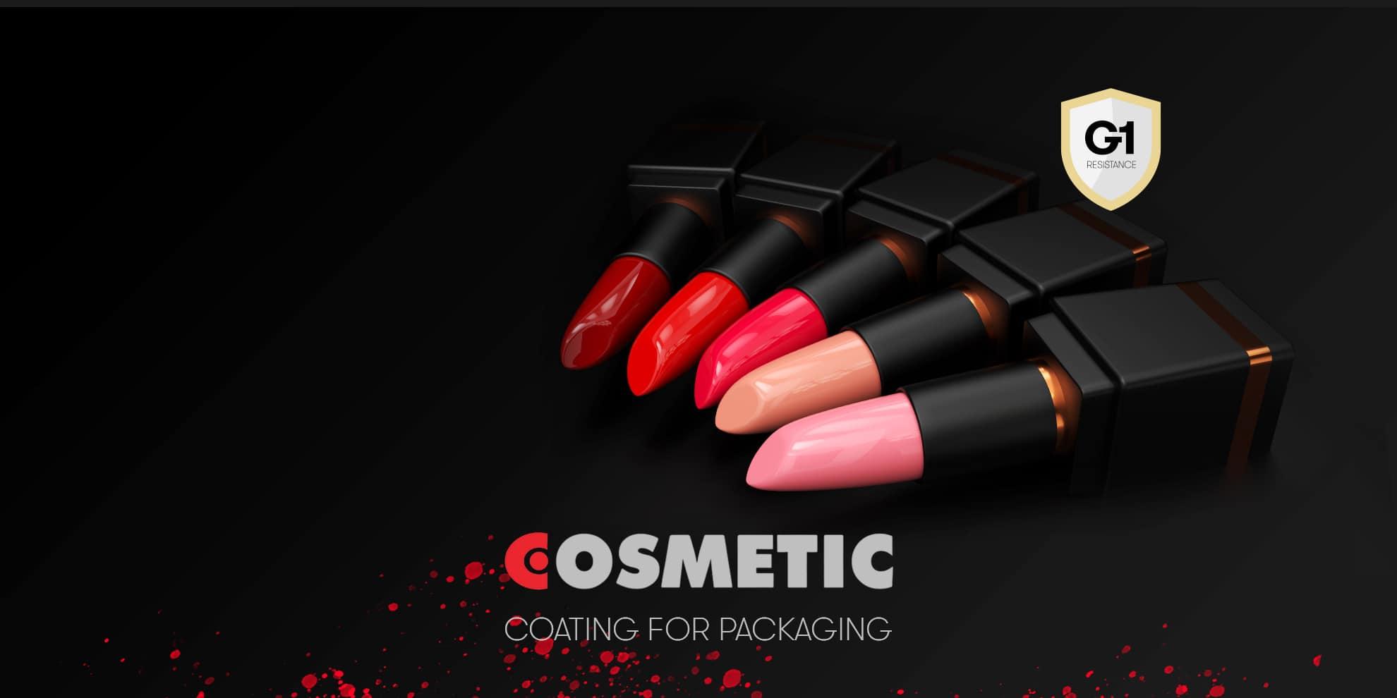 Vernici per<br> Packaging Cosmetici